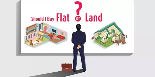 Flat Or Land What Should People Buy In Small Towns