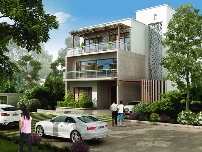 Diplomatic Greens Villas Gurgaon