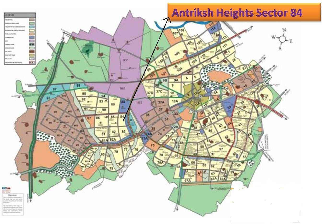 Language In 45 And 47 Stella Street: Antriksh Heights Sector 84, Gurgaon
