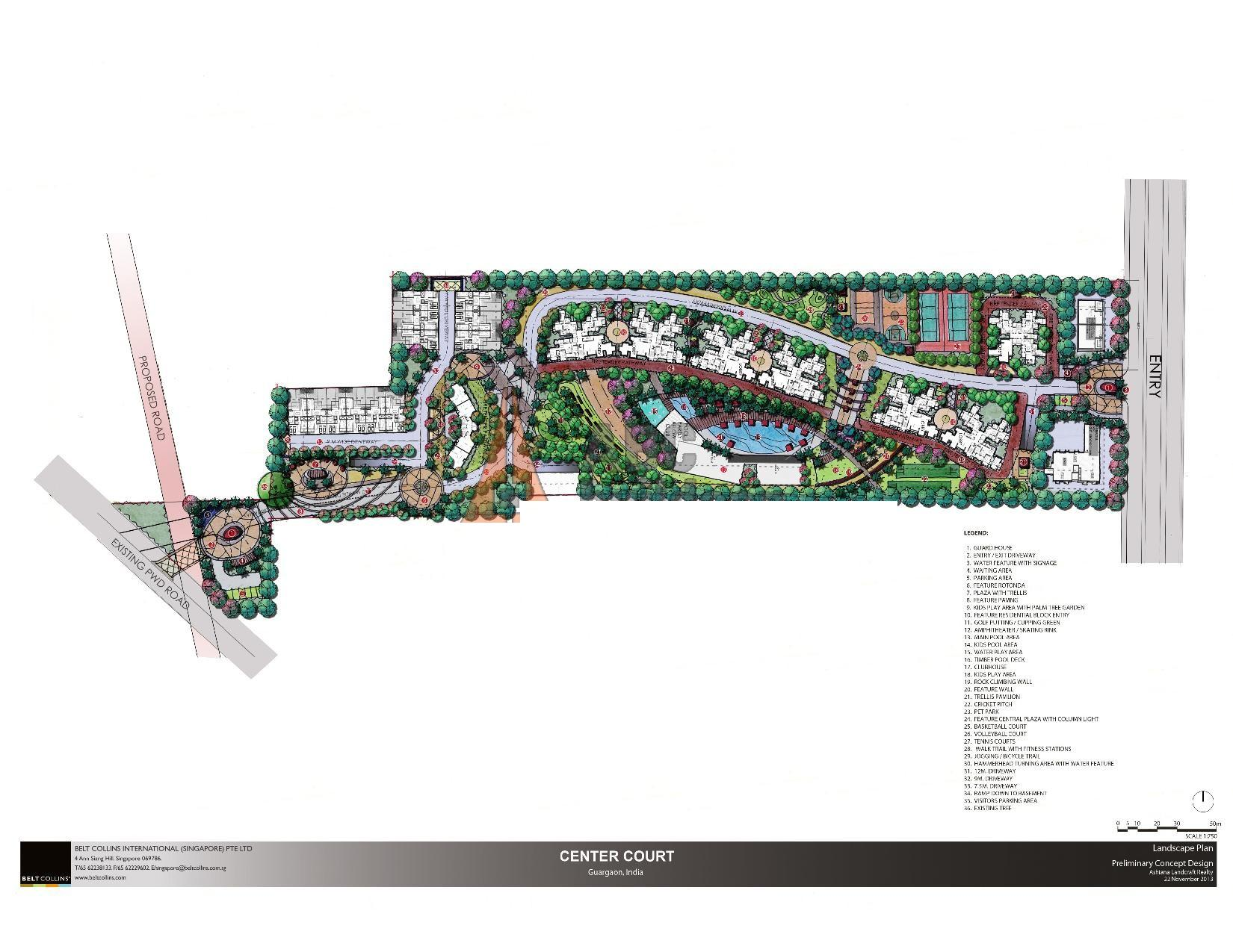 Ashiana landcraft sector 88 gurgaon for Landcraft homes floor plans