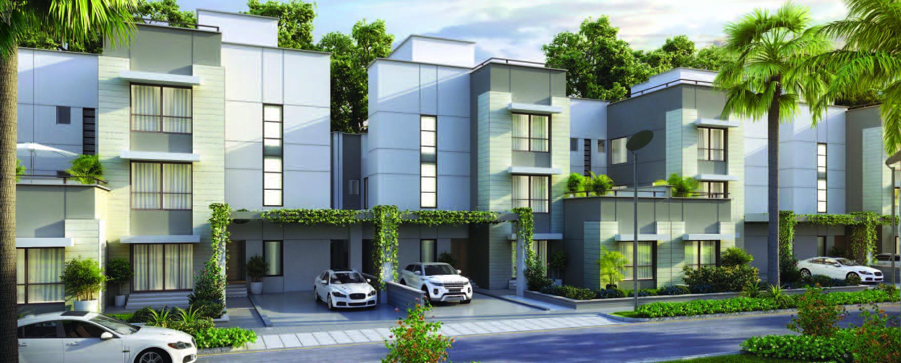 4 Bhk Villas Sobha International City Phase 1
