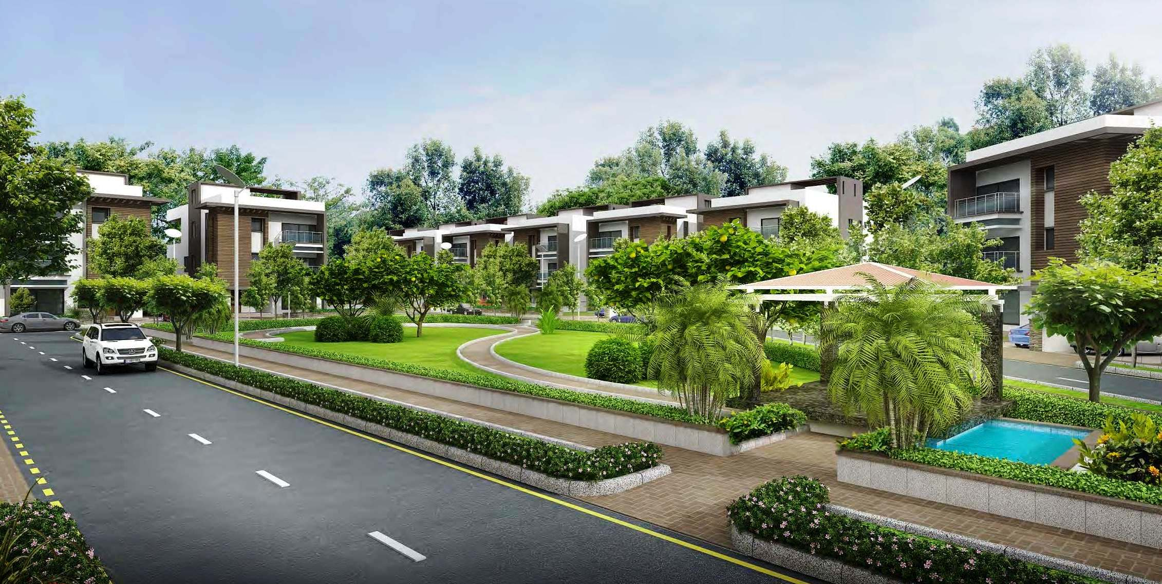 3 Bhk Villas in Sobha International City Phase 1
